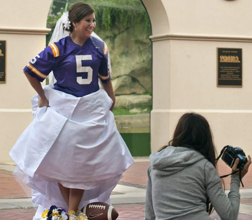 Fall wedding? Here's how LSU, Saints, Tulane schedules might (or might not) conflict with your plans _lowres
