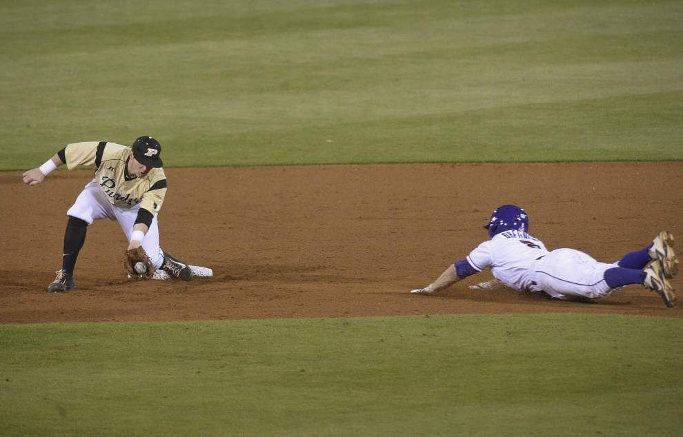 LSU baseball postgame: Tigers defeat Purdue 10-0 at Alex Box _lowres