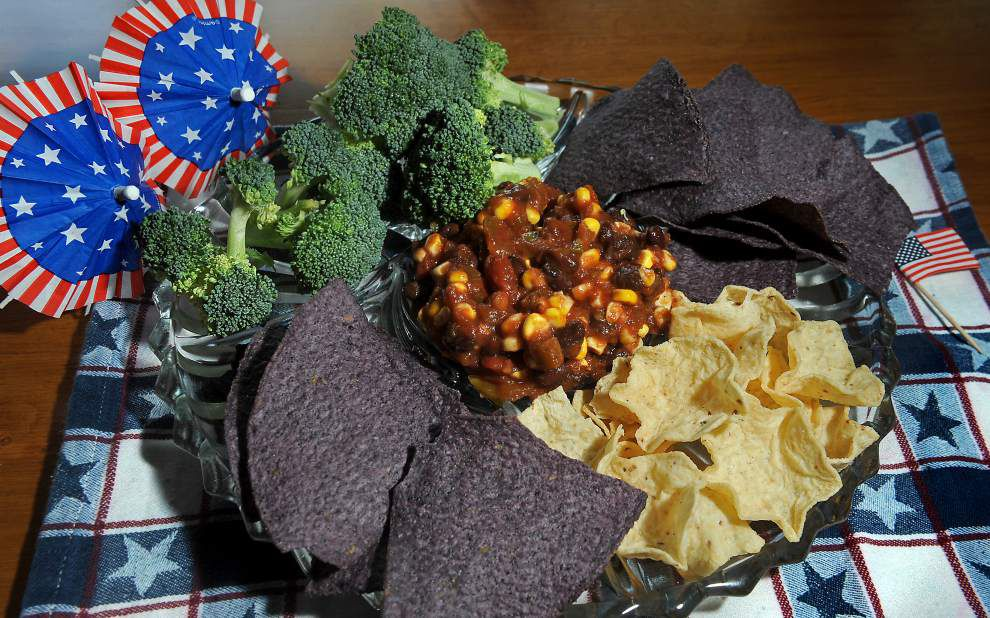 What A Crock!: Corn and bean salsa _lowres