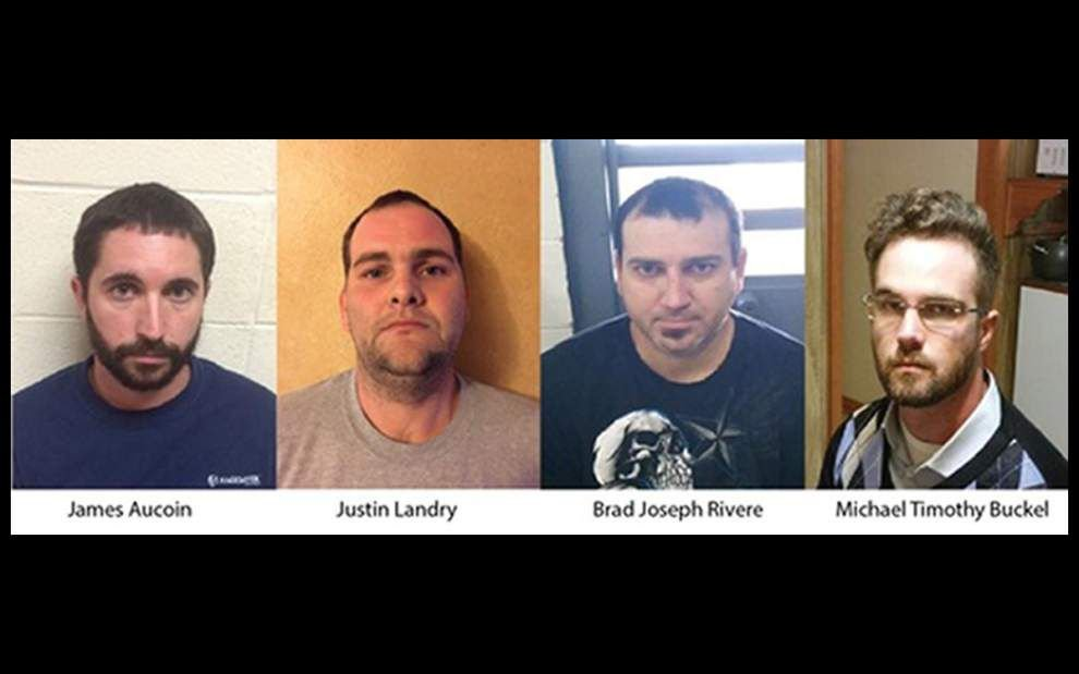 Four men in three parishes arrested on child porn counts in joint investigation _lowres