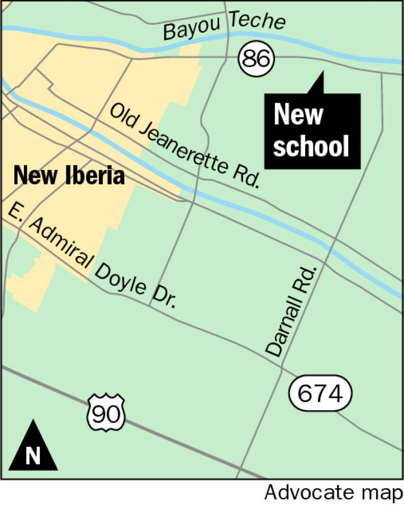 Iberia Parish boad forging ahead with plans for new elementary school _lowres