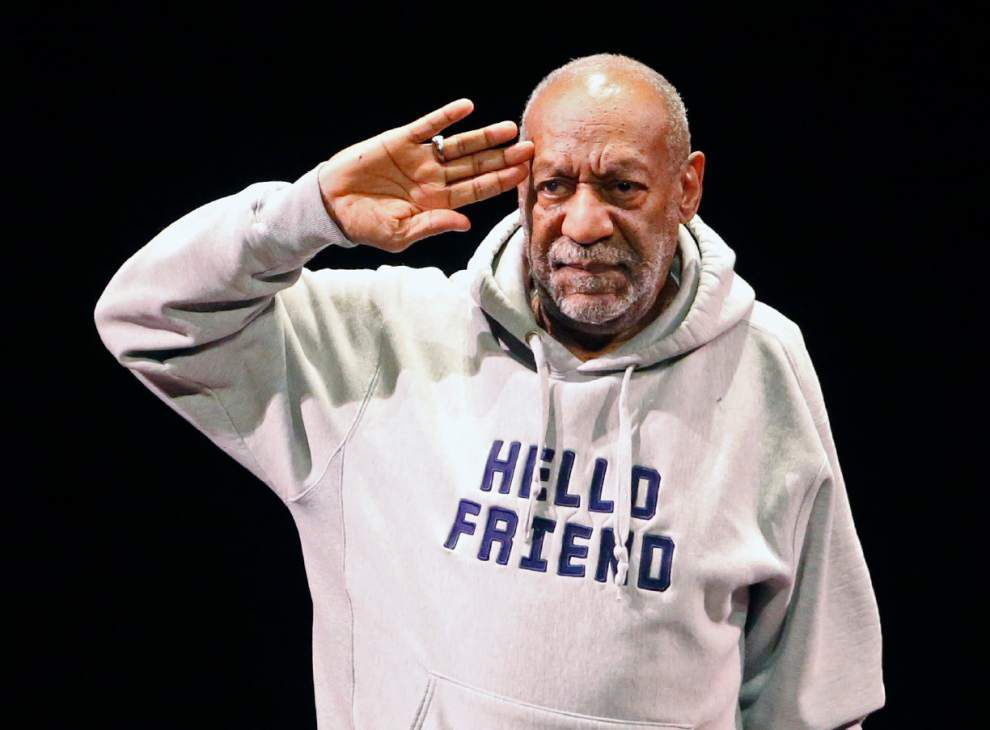 Bill Cosby welcomed with cheers, applause in Lafayette appearance _lowres
