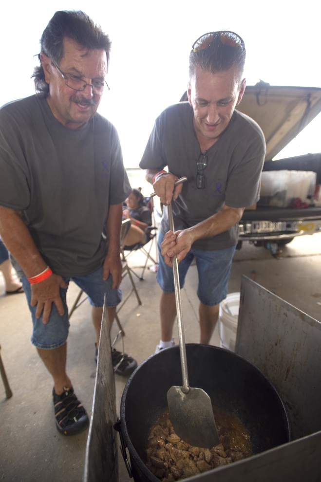 Photos: Swamp Pop Festival & Cook-Off included jambalaya, car show, live music _lowres