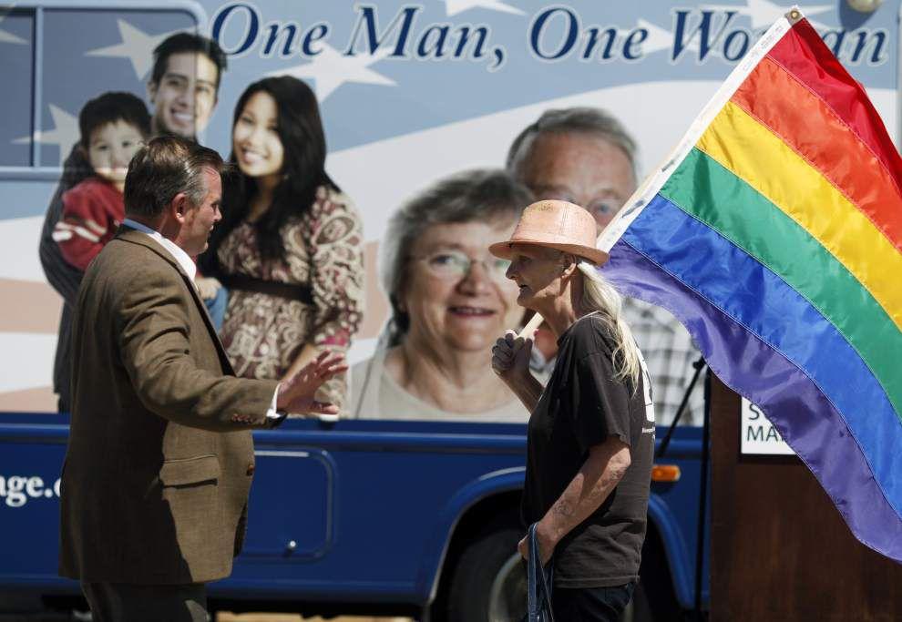 Losing streak lengthens for foes of gay marriage _lowres