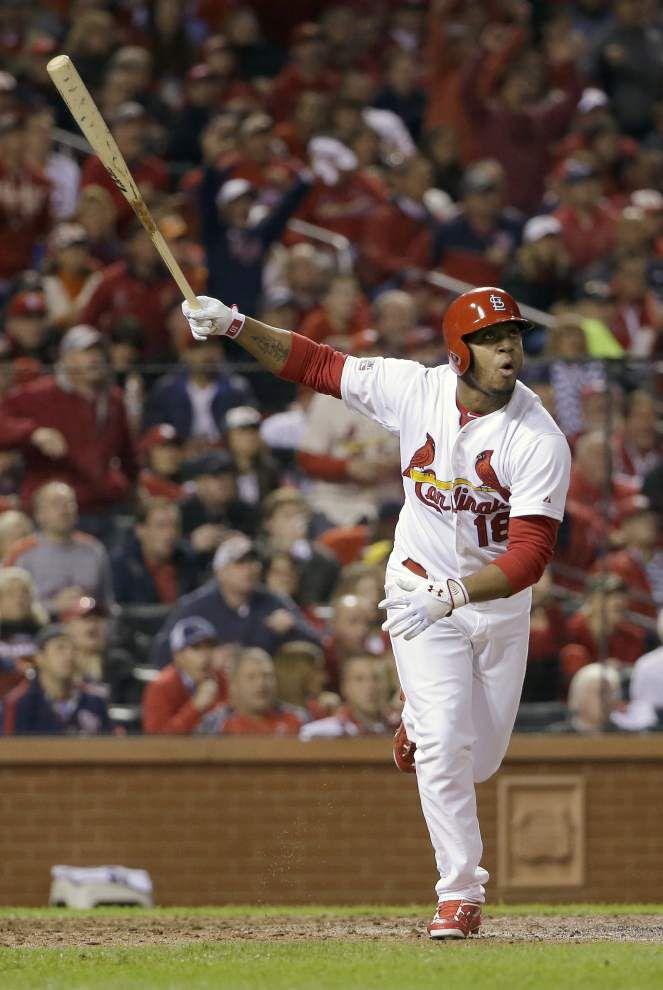 Kolten Wong's homer gives Cardinals 5-4 win, knots NLCS _lowres