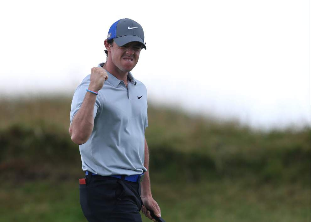 Rory McIlroy boosts British Open lead to six shots _lowres