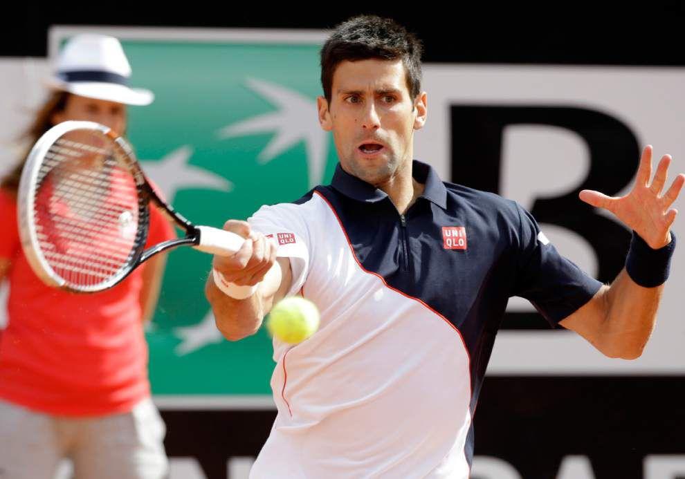Tennis: Novak Djokovic, Serena Williams win in Rome _lowres