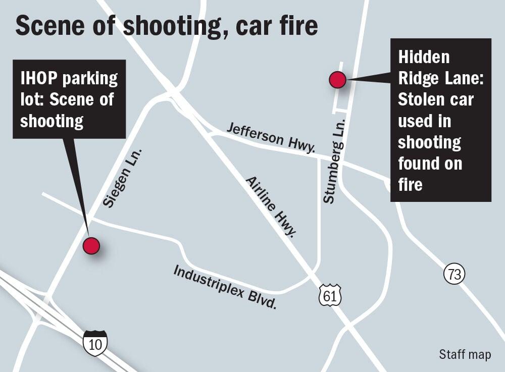 Map: Scene of IHOP shooting