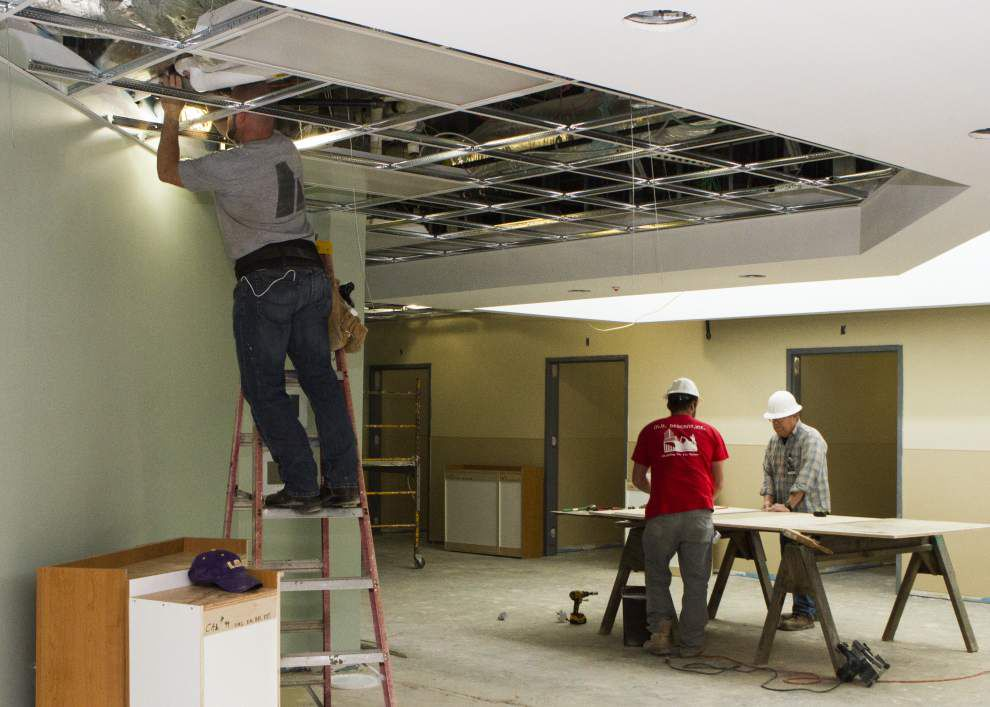 First phase of Lafayette University Hospital and Clinics' emergency department makeover expected to be completed by March _lowres