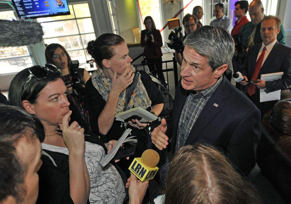 Stephanie Grace: Old rivals renew fight with U.S. Sen. David Vitter _lowres
