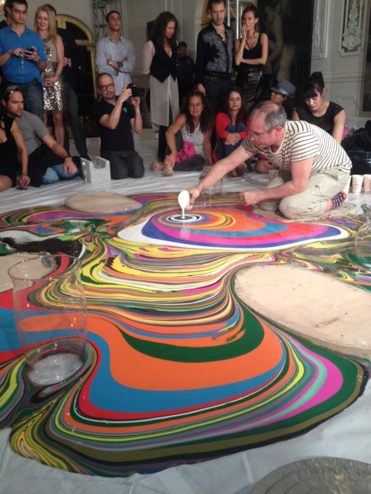 LASM exhibit asks artists to 'Inflate. Draw. Pour.' _lowres