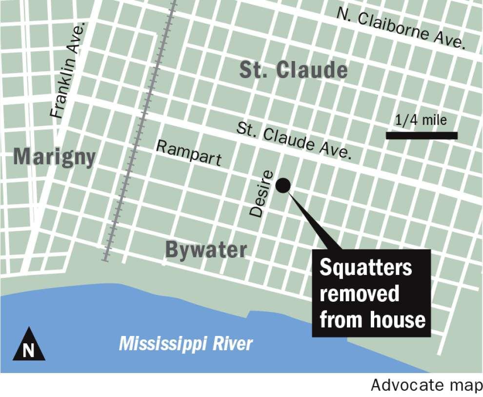 Four squatters reportedly tied to black separatist group arrested for criminal trespassing at Bywater home _lowres