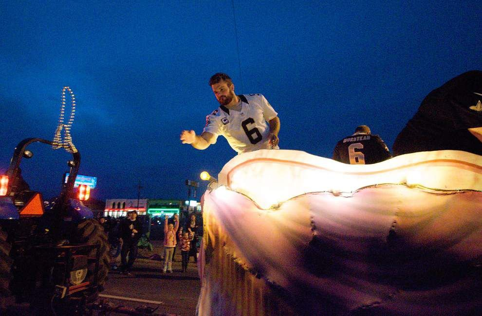 Veteran New Orleans Saints punter Thomas Morstead willing to wait for fans at charity event _lowres