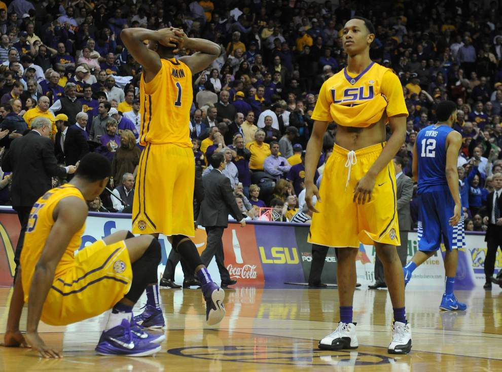 Podcast: This week's games are critical to LSU's NCAA tournament hopes _lowres