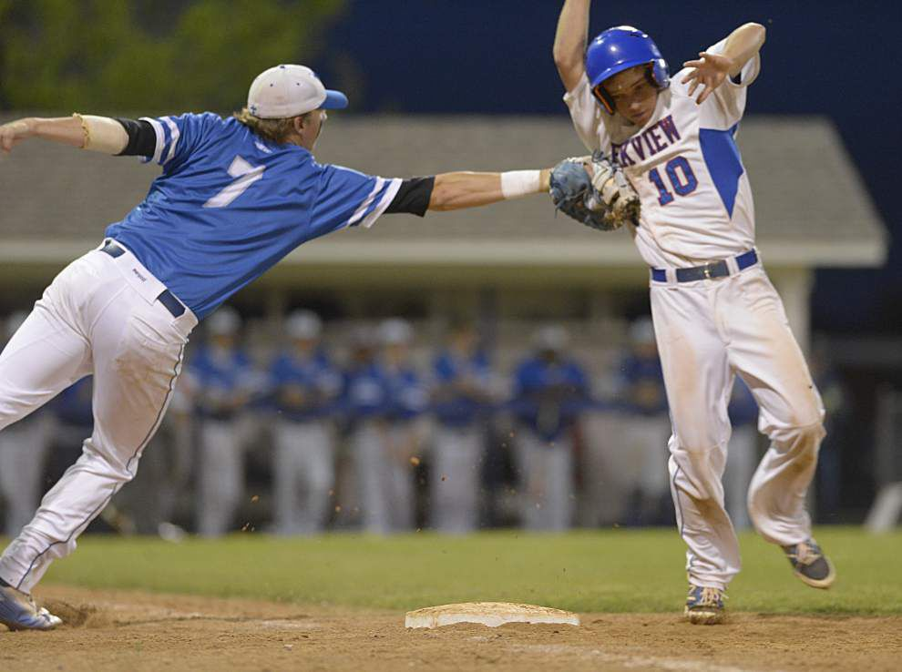 Parkview Baptist's Hunter Joubert takes charge _lowres