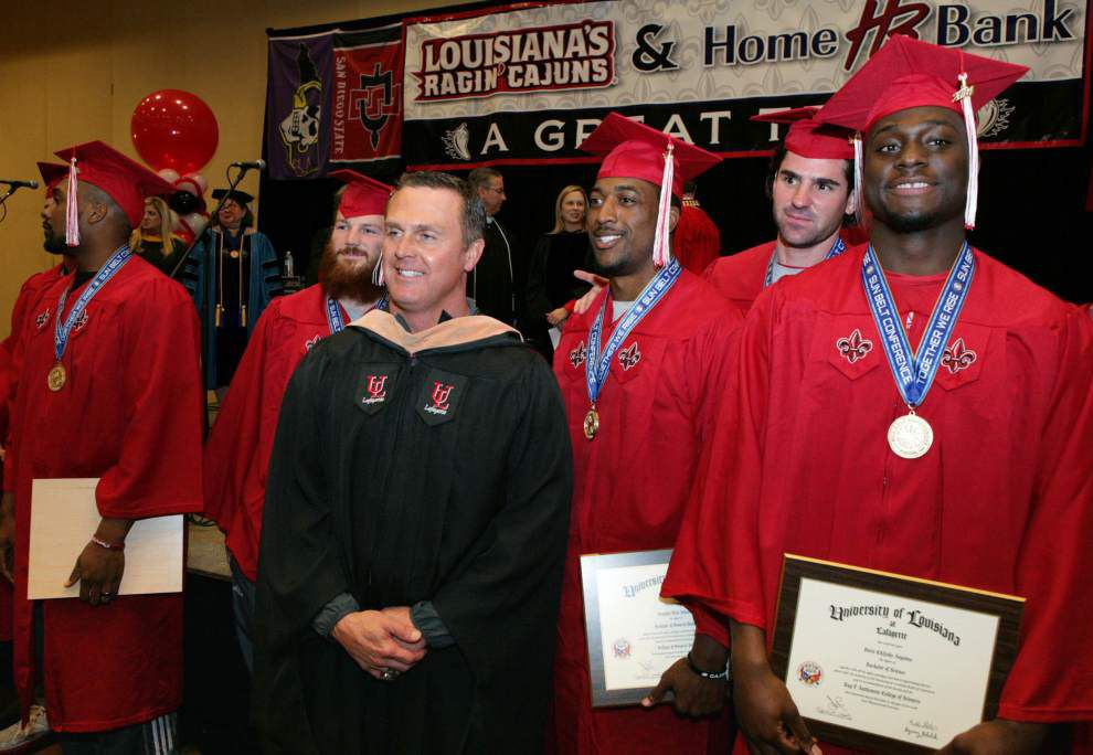 'Today is a milestone day' for graduates of UL-Lafayette _lowres