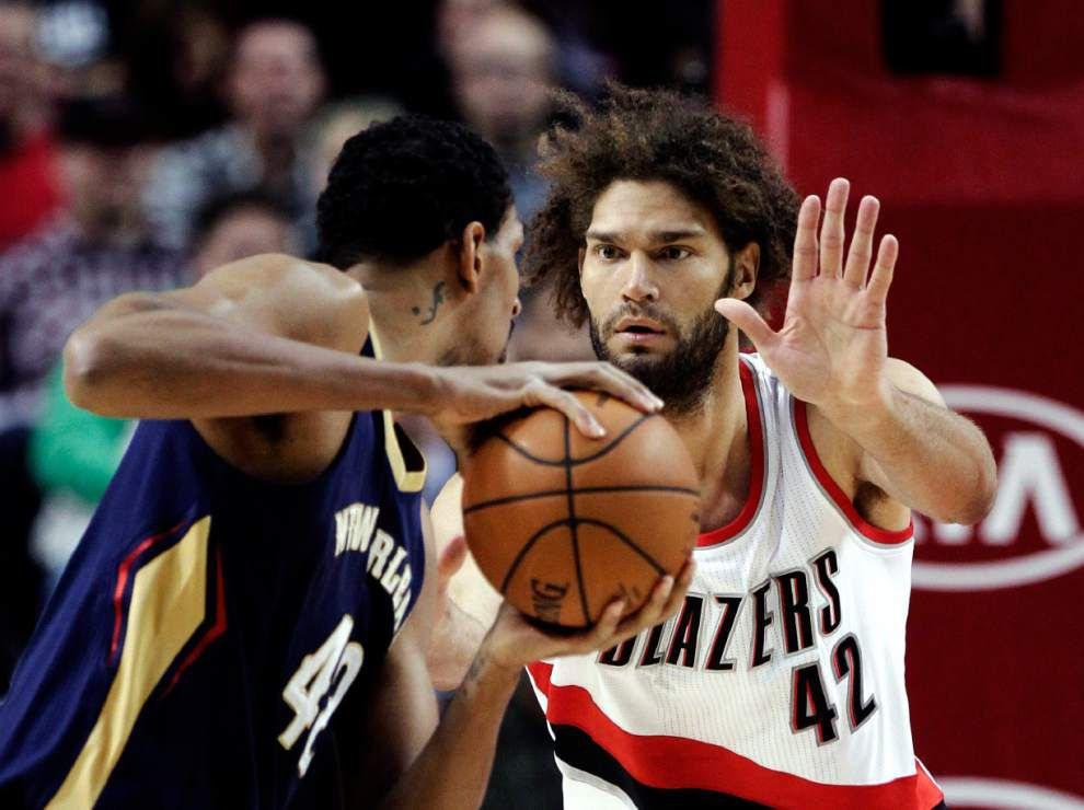 Trail Blazers rally past Pelicans to overshadow Anthony Davis' big night _lowres