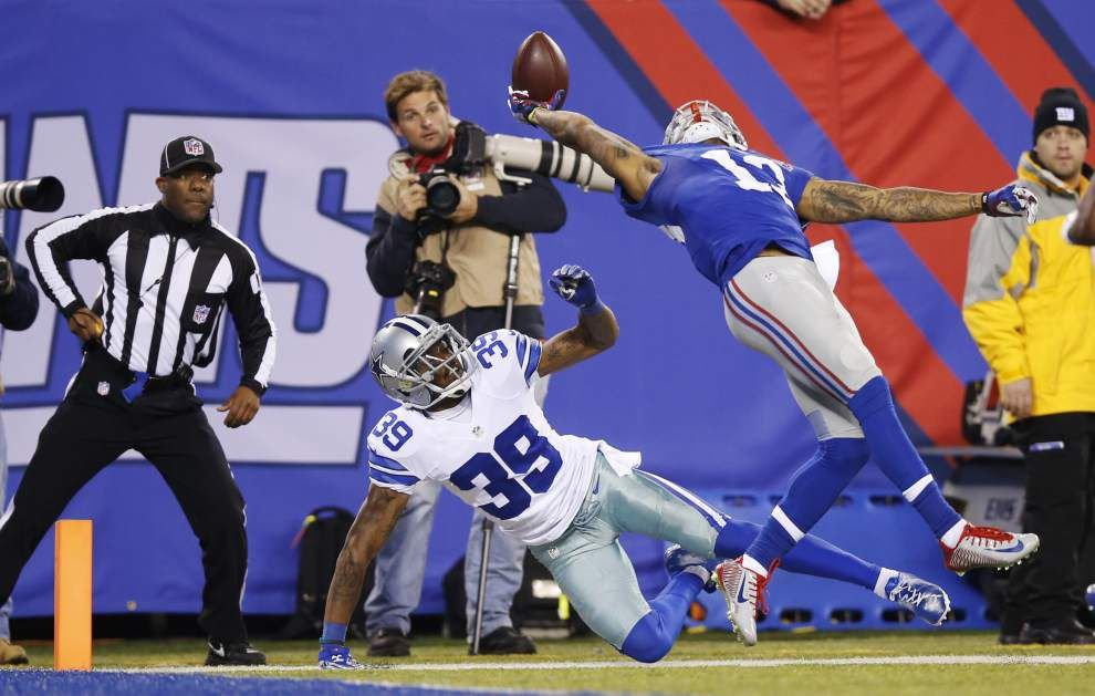 Ex-LSU wide receiver Odell Beckham named NFL Offensive Rookie of the Year _lowres