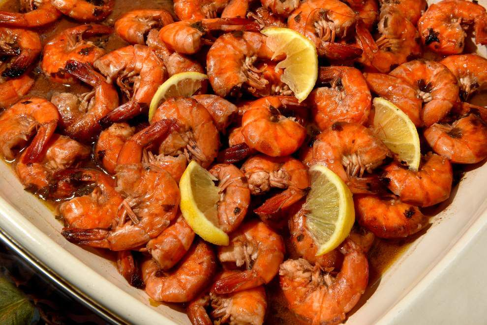 Gourmet Galley: Tray of shrimp welcomes travelers back home to Louisiana _lowres