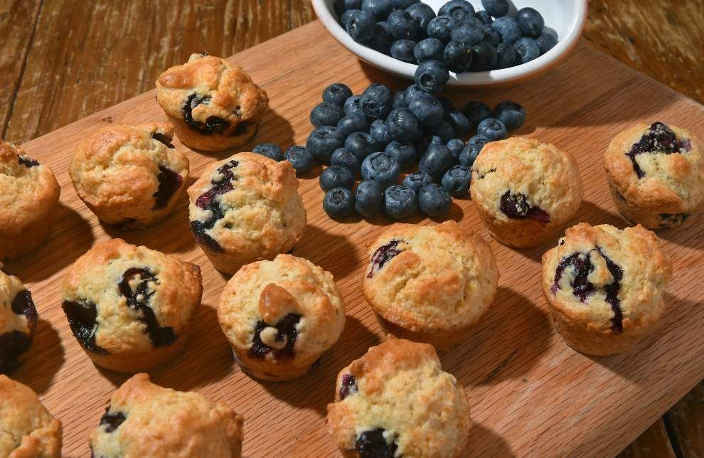 Gourmet Galley: Cup of fresh Louisiana blueberries enough for batch of easy-to-make muffins _lowres