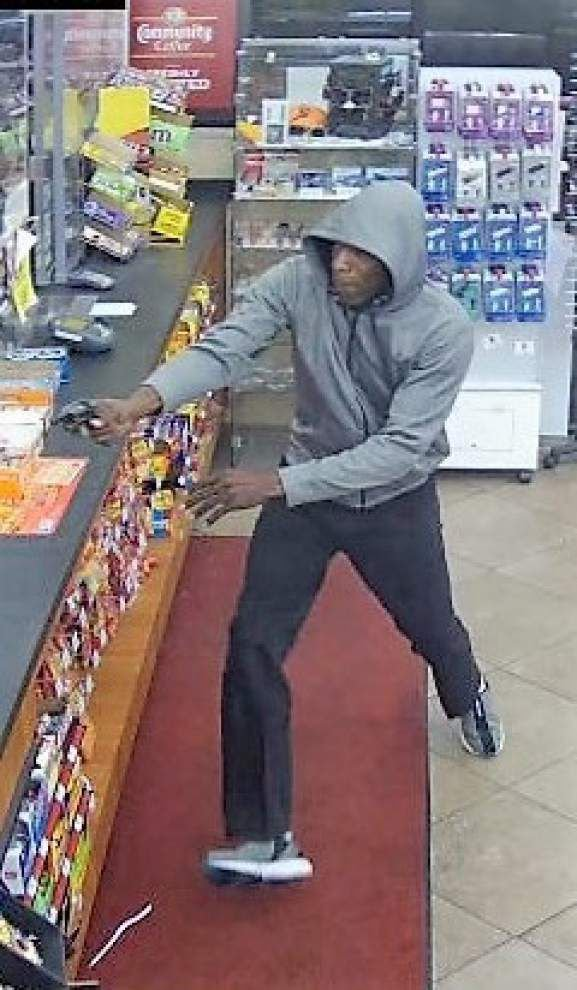 Baton Rouge police seek man who held up Highland Road Chevron Station at gunpoint _lowres