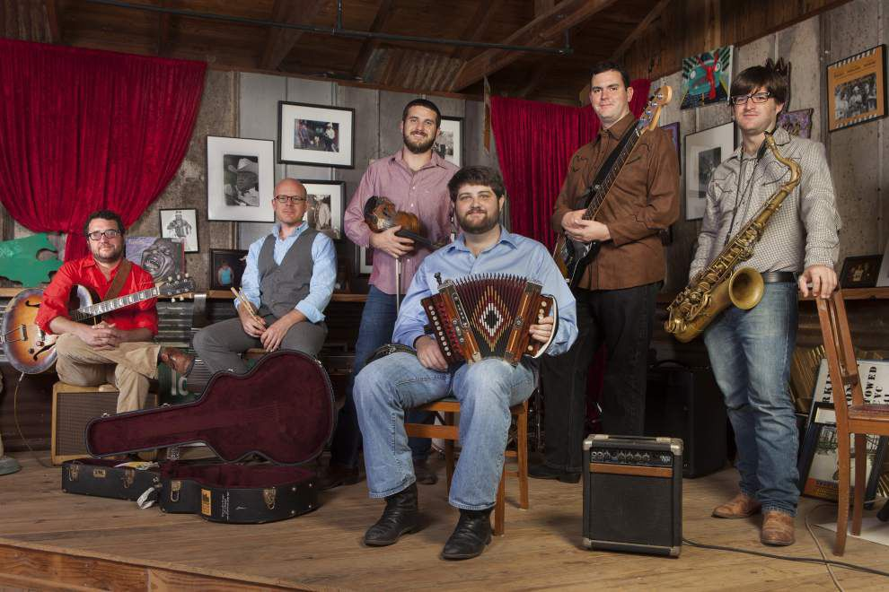 Swamp pop supergroup The Revelers coming to Mud and Water _lowres