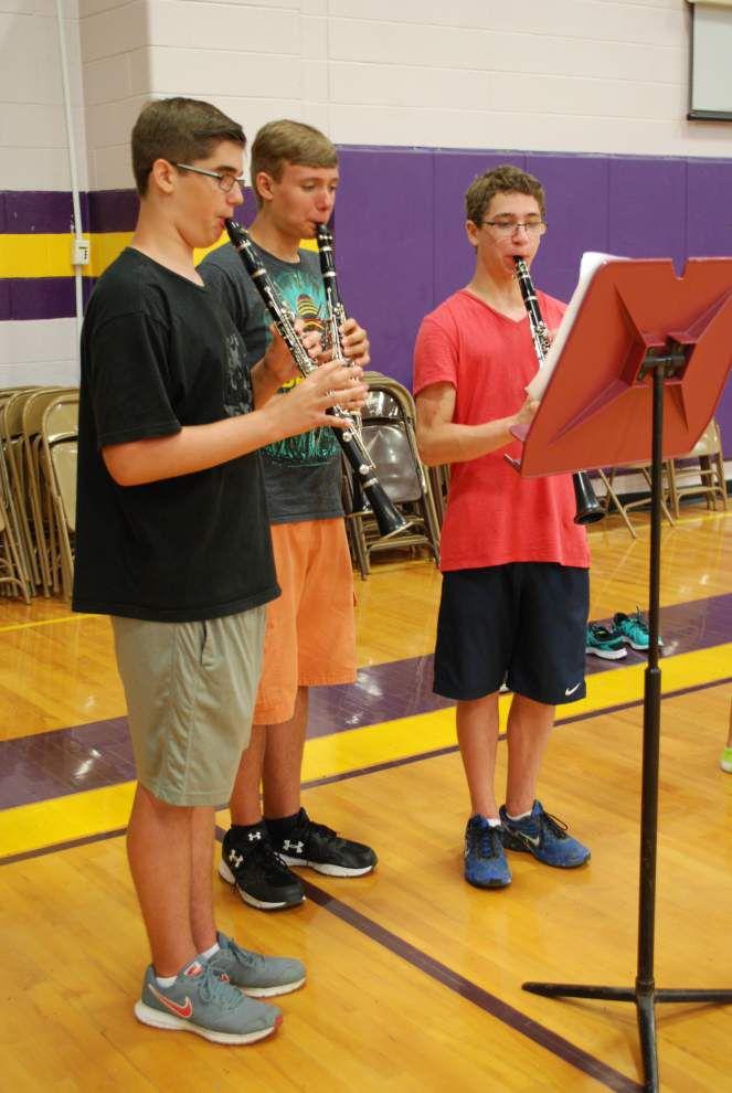 DSHS Jacket Pride holds summer band camp _lowres