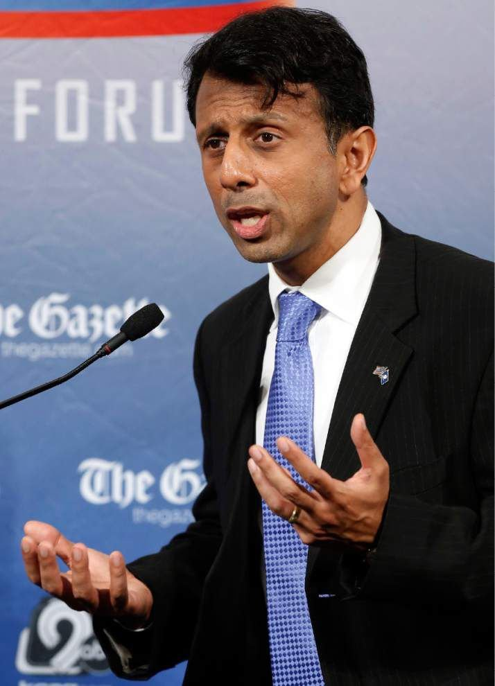 Bobby Jindal, at presidential forum, blasts those 'trying to divide us,' says nation needs to get off 'the path to socialism' _lowres