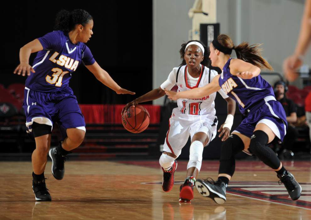 UL-Lafayette women relish chance to play McNeese State _lowres
