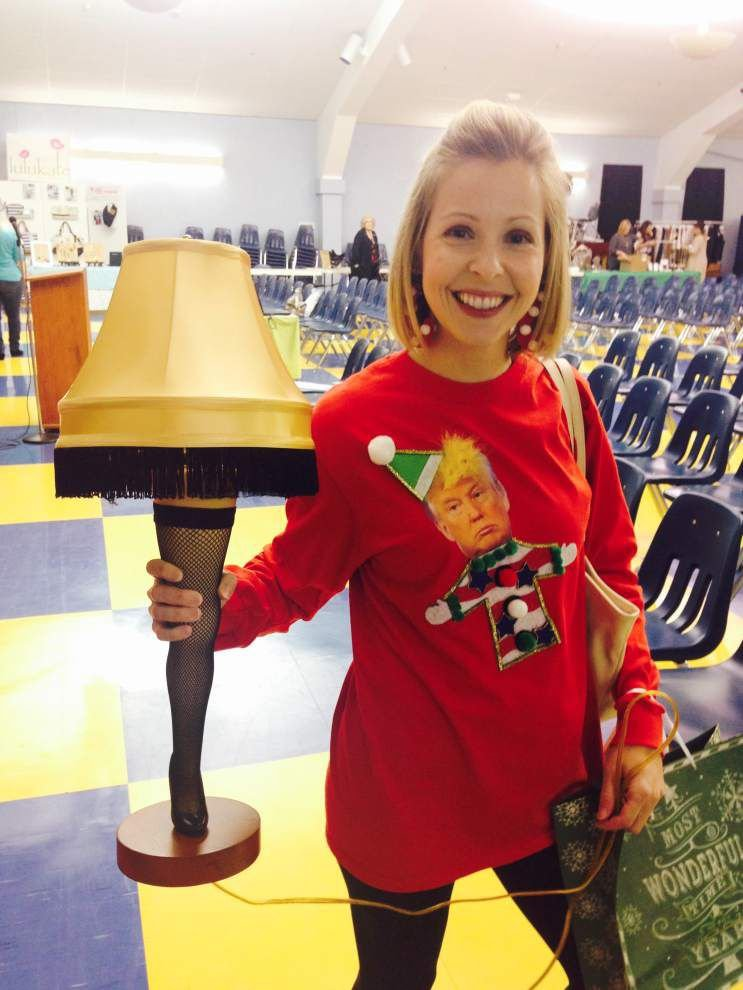 Metairie school co-op club holds Ugly Christmas Sweater Contest _lowres