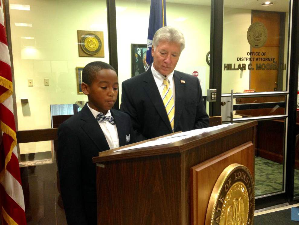Baton Rouge district attorney starts 'recruiting' them young: 7th, 8th grade Junior DAs wrap up two-week program _lowres