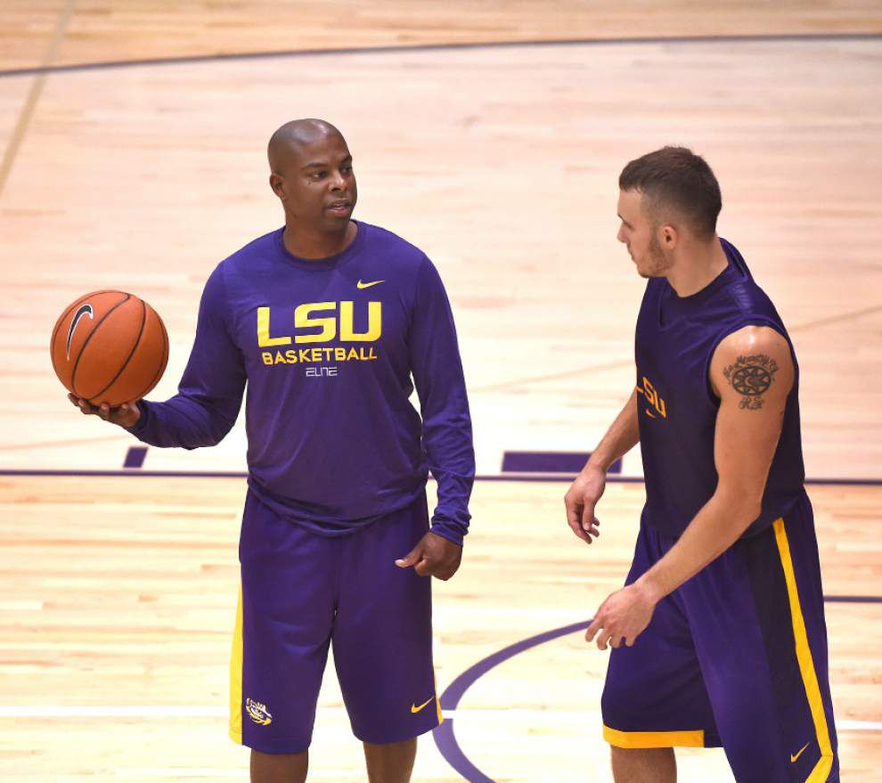 Video: LSU guard Keith Hornsby said he wants to show people how versatile his game can be _lowres