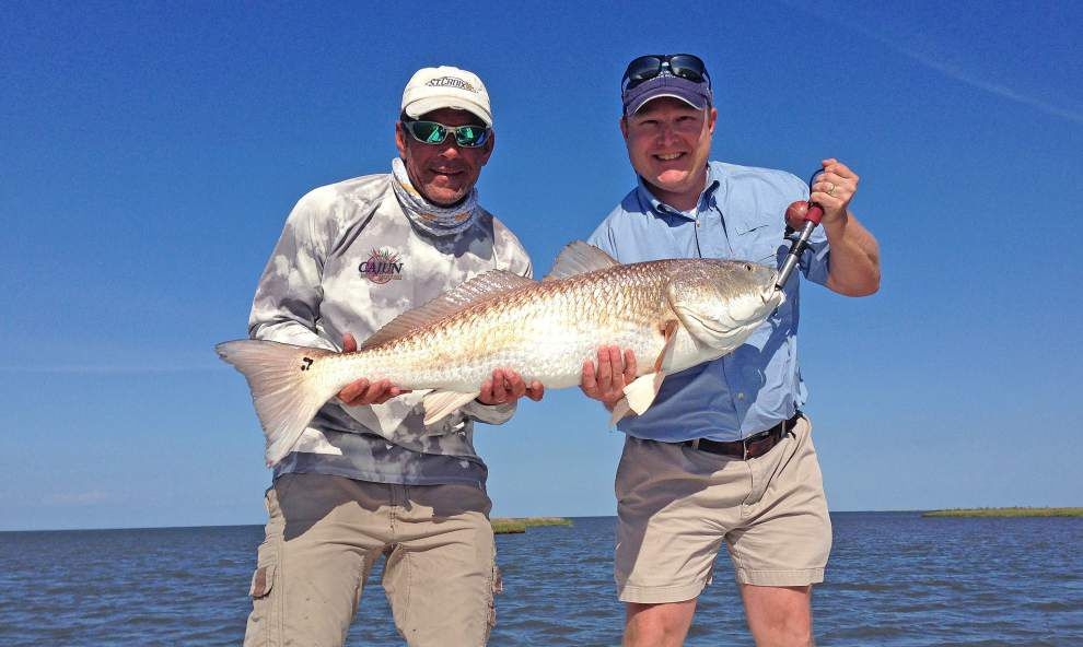 Think 'small' baits for spring's fishing giants _lowres