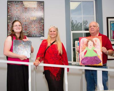 Art Association closes show with reception _lowres
