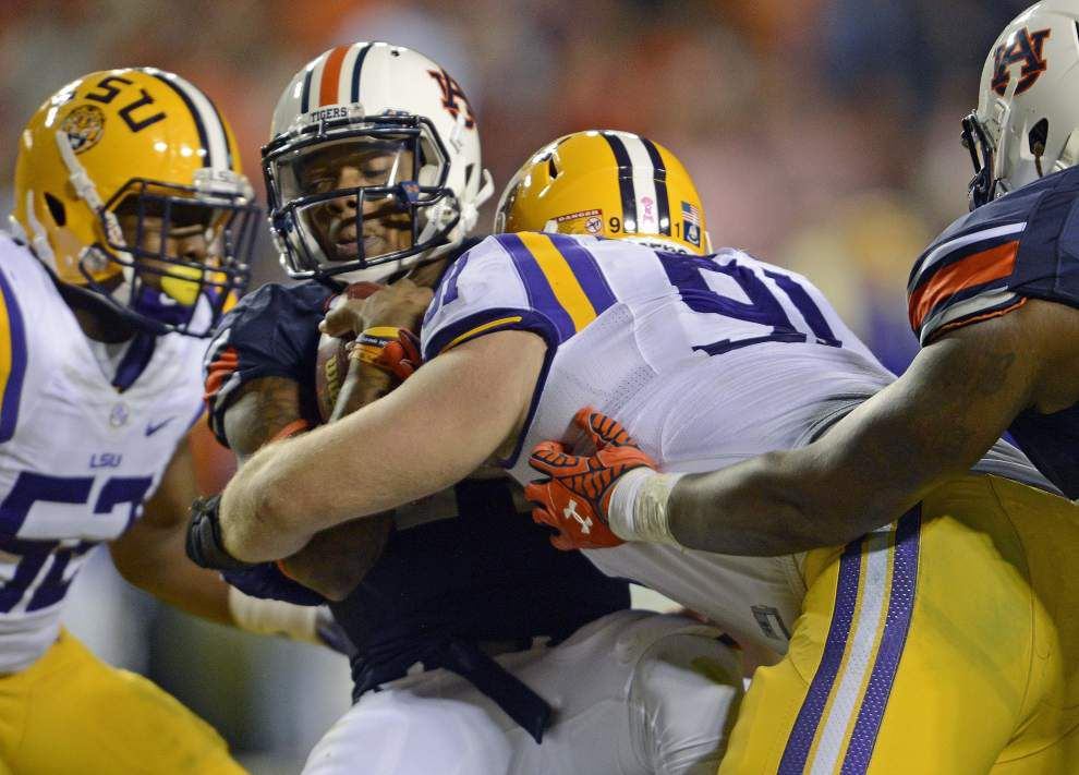 Video: LSU defensive tackle Christian LaCouture says team is going to regroup after Auburn loss _lowres