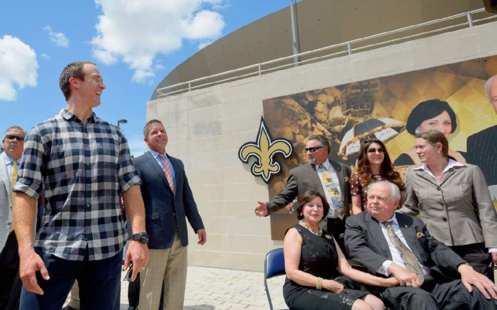 Drew Brees: 'All I can say is I absolutely love' Gayle Benson _lowres