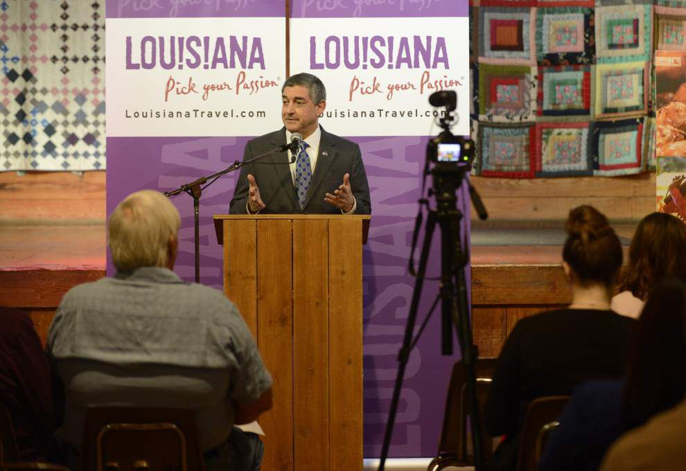 Dardenne hears ideas for promoting tourism on Acadiana visit _lowres