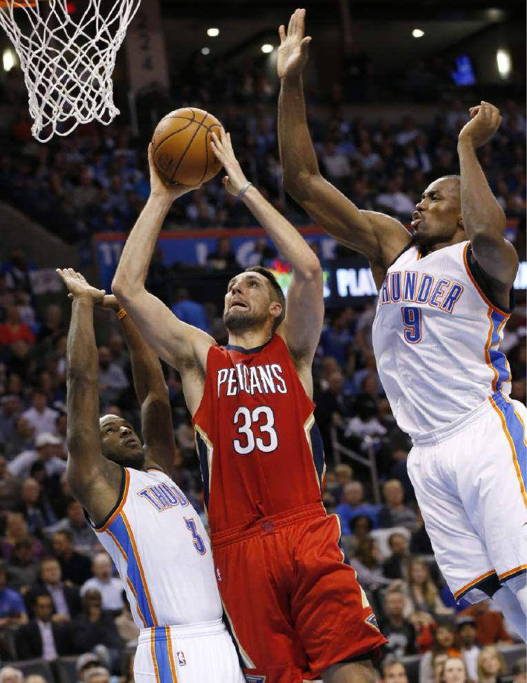Losing continues, but Pelicans showed grit against Thunder; 9-2 Spurs next _lowres