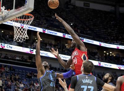 Mavericks Pelicans Basketball