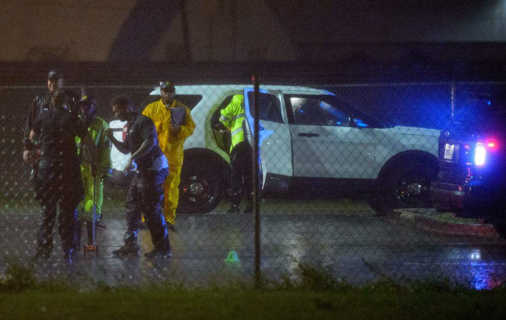 Off-duty New Orleans Police Department officer shot Sunday night; shooter at large _lowres