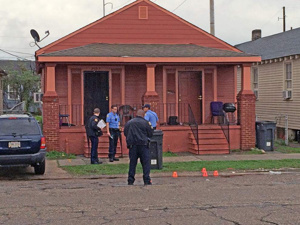 More gunfire Friday in New Orleans: Double shooting in 7th Ward _lowres