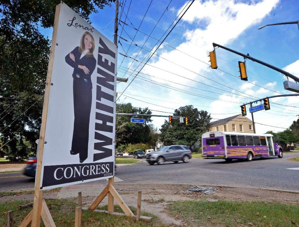 Metro Buzz: Whitney's campaign signs cause a stir _lowres