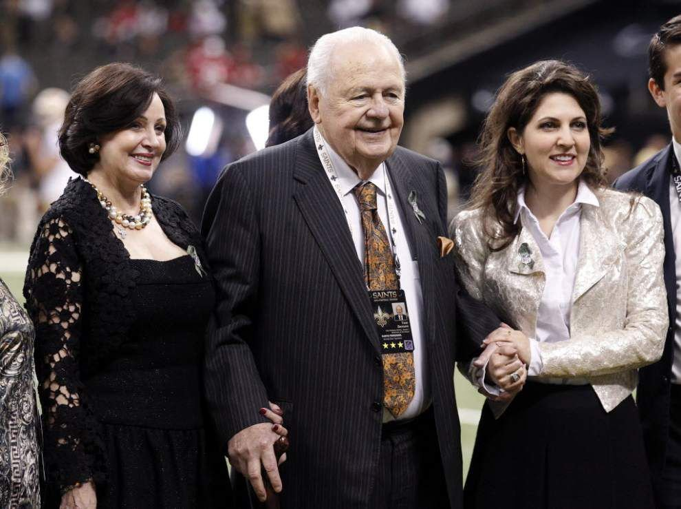 Tom Benson: 'Hard to take' attacks by Rita LeBlanc, family; 'at first, I couldn't believe it' _lowres