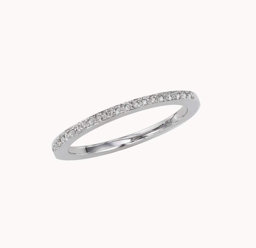 Women like diamonds; men want tough metals edding ring bands trend toward durability _lowres