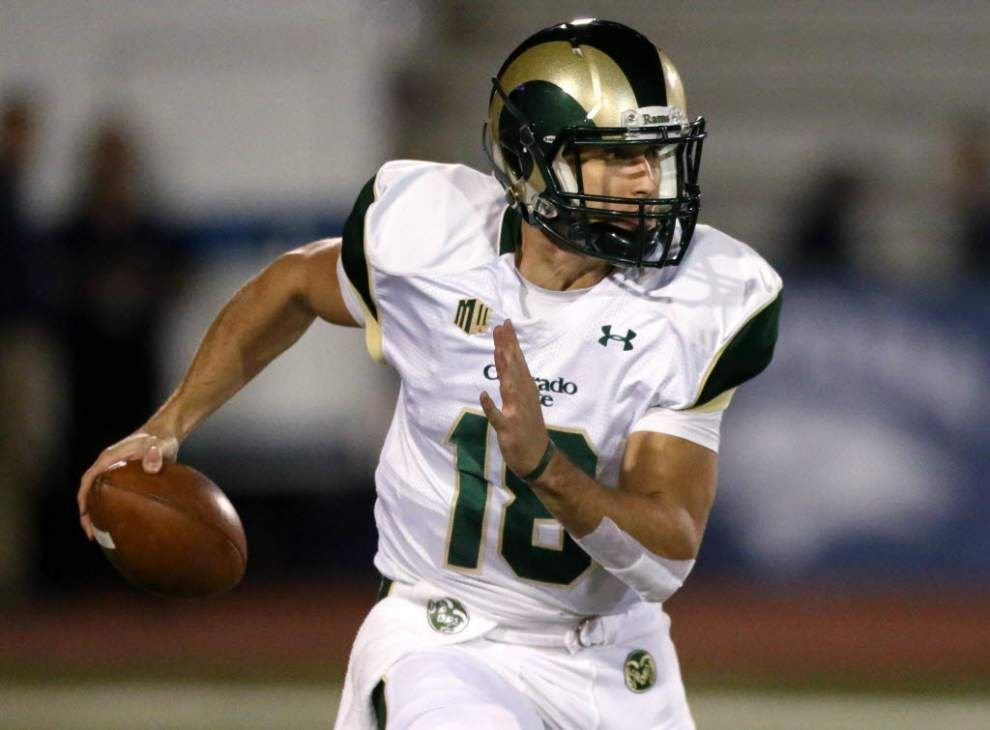 The deal quarterback Garrett Grayson signed with the Saints is $3.4 million for four years _lowres