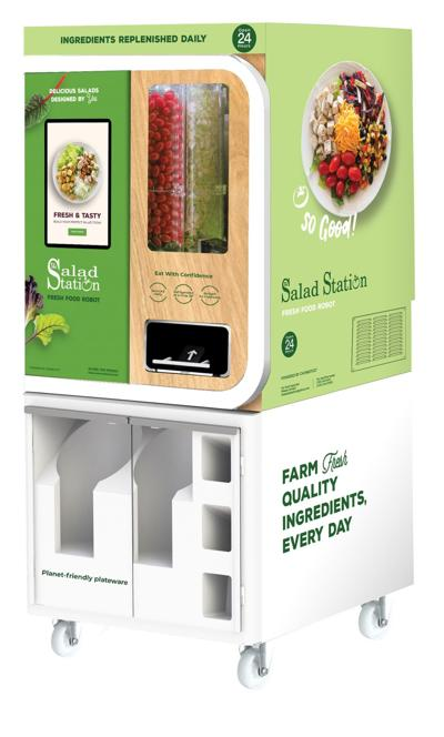 Chowbotics Salad Station