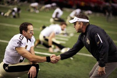 Brees 'would love a long-term deal to get done,' but Saints QB won't talk contract during season _lowres