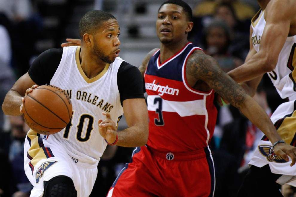 Lewis: Reclaiming starting spot big step for Pelicans guard Eric Gordon _lowres