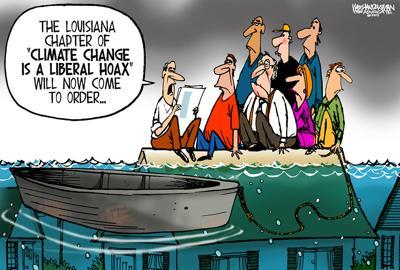 Walt Handelsman: Climate Change
