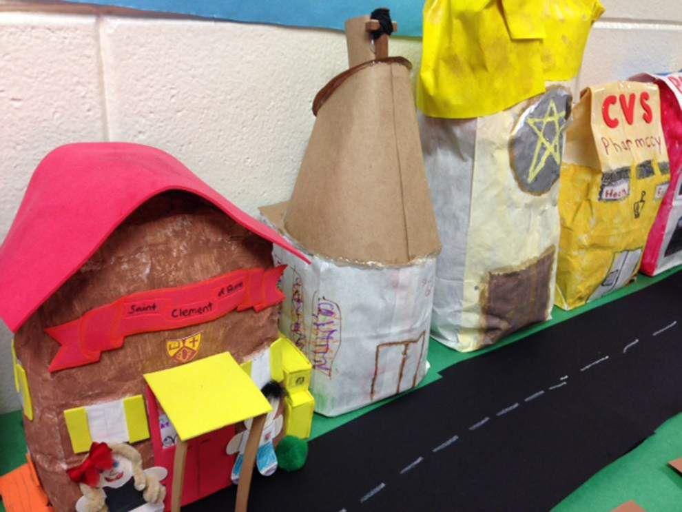 Metairie second-graders explore city blocks _lowres
